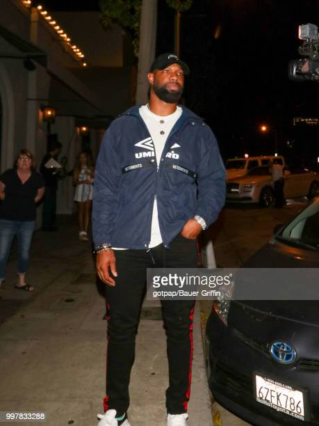 Marcedes Lewis are seen on July 12 2018 in Los Angeles California