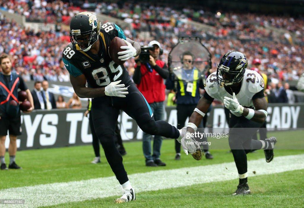 Baltimore Ravens vsJacksonville Jaguars : News Photo