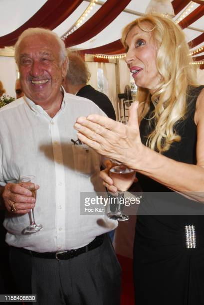Marcel Campion and Sylvie Elias attend The Children for Peace Auction Diner at Jardin des Tuileries on June 25 2019 in Paris France