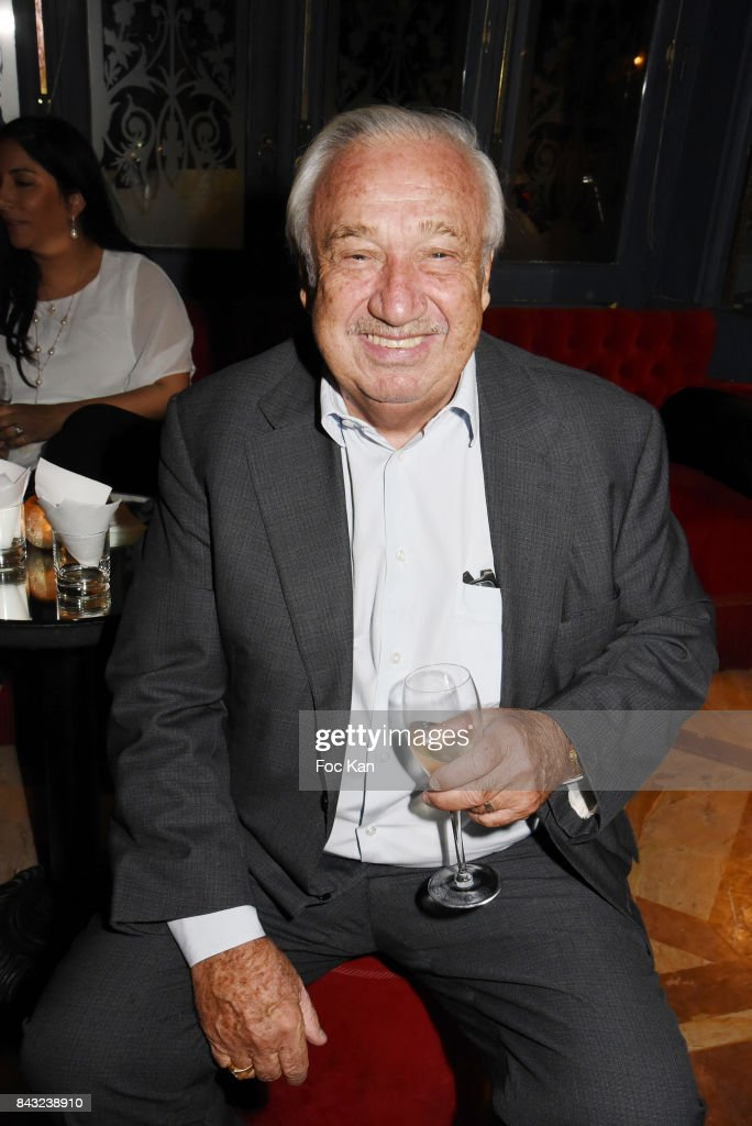 Marcel Campion attends The Art De La Matiere AD Interieurs 2017 After Cocktail Dinner at La Perouse on September 5, 2017 in Paris, France.