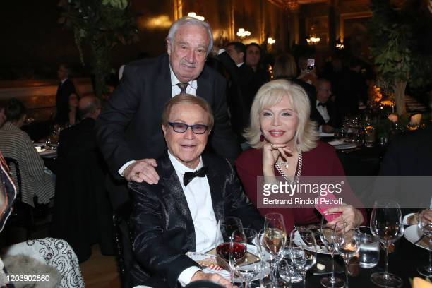 Marcel Campion Orlando and Amanda Lear attend the 20th Gala Evening of the Paris Charter Against Cancer for the benefit of the International...