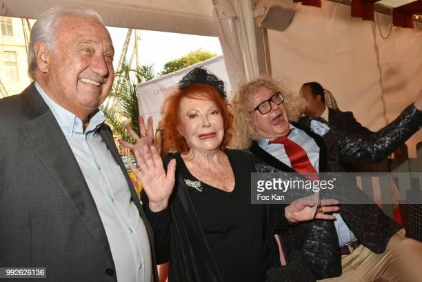 Marcel Campion Regine and PierreJean ChalenconÊ Attend 'La Femme Dans Le Siecle' Dinner on July 5 2018 in Paris France