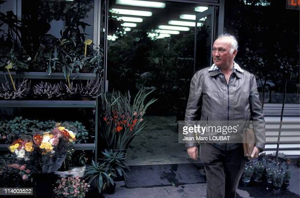 Marcel Chevalier the last executioner before death penalty abolition in Paris France in September 1981Marcel Chevalier was the last executioner in...