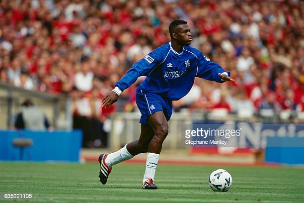 Marcel Desailly playing for Chelsea during the FA Community Shield