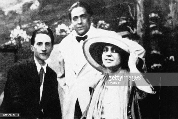 Marcel Duchamp, Francis Picabia and Beatrice Wood USA, New York, London, National Gallery.