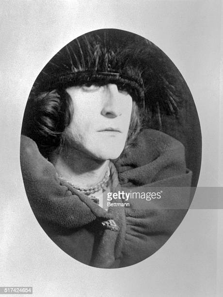 Marcel Duchamp , painter associated with several movements, including cubism, DADA and futurism. This photograph, by Man Ray, depicts Duchamp in drag...