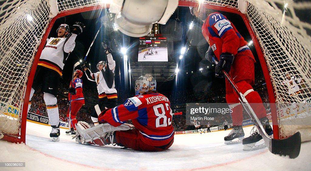 Russia v Germany - 2010 IIHF World Championship