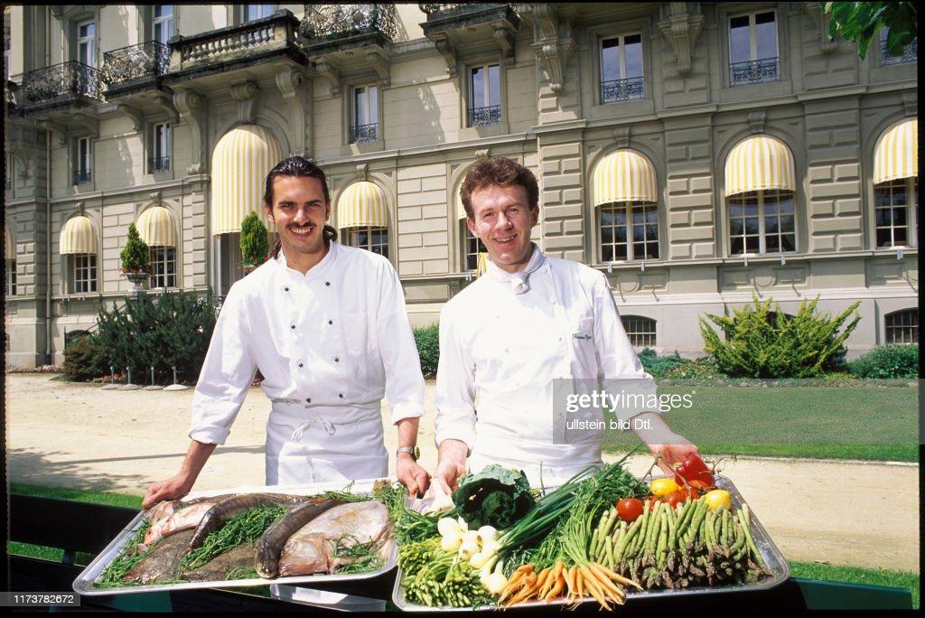 Marcel Güttinger, Seamus Egan 1995 : News Photo