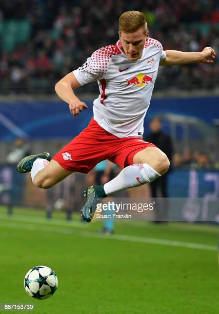 Marcel Halstenberg of RB Leipzig during the UEFA Champions League group G match between RB Leipzig and Besiktas at Red Bull Arena on December 6 2017...