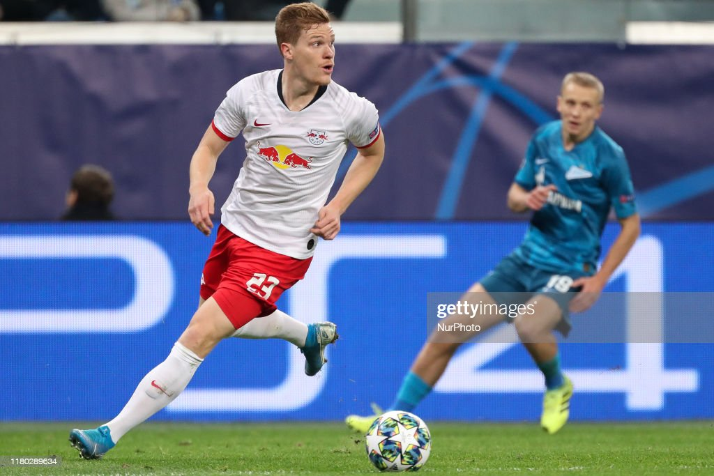 Zenit St. Petersburg v RB Leipzig: Group G - UEFA Champions League : ニュース写真