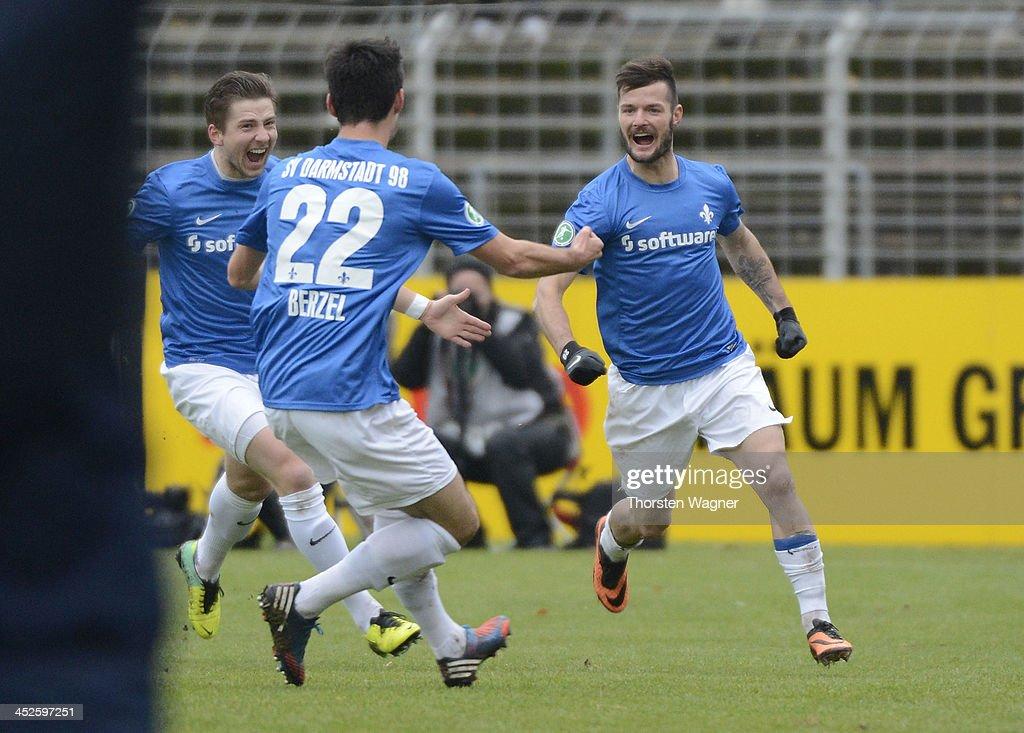 Darmstadt 98 v SV Wehen Wiesbaden - 3. Liga