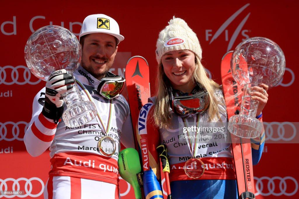 2017 Audi FIS Ski World Cup Finals - Ladies' & Mens' Slalom : Nachrichtenfoto