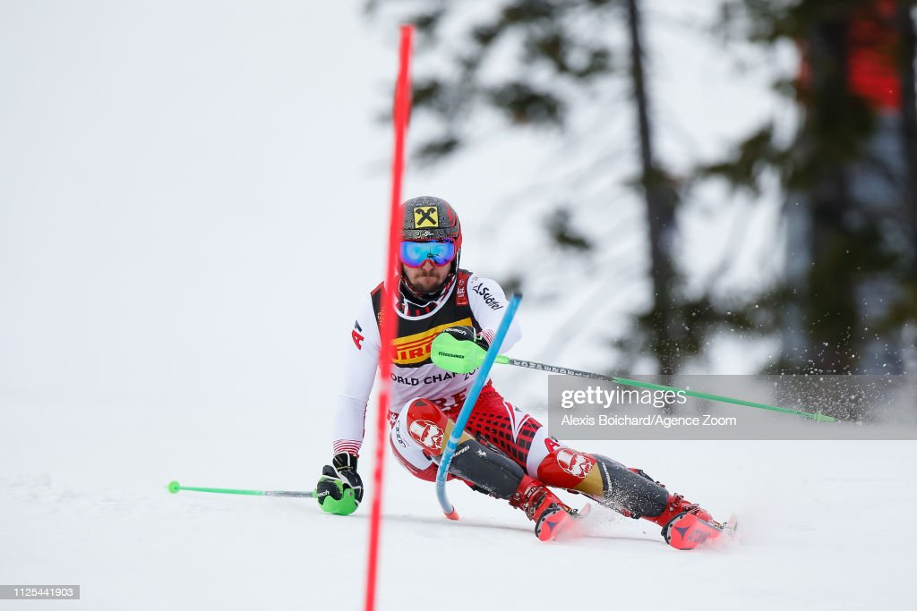 SWE: FIS World Ski Championships - Men's Slalom