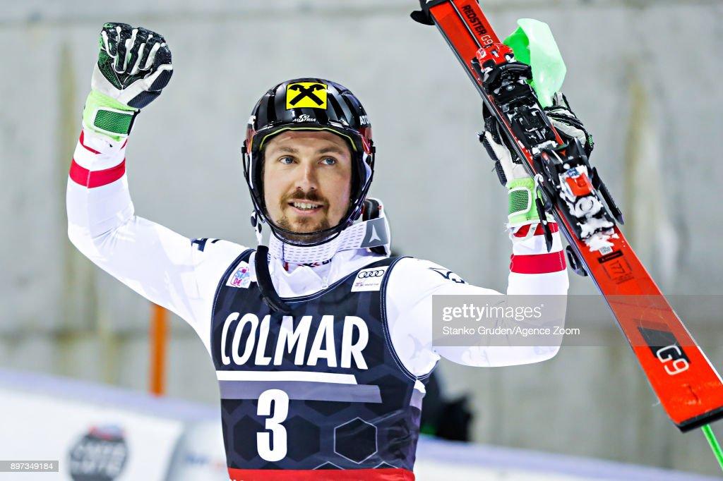 Audi FIS Alpine Ski World Cup - Men's Slalom : News Photo