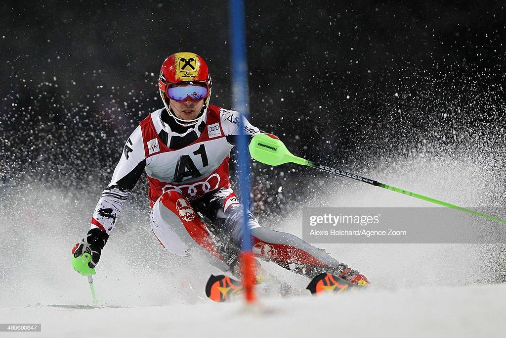 Audi FIS World Cup - Men's Slalom : Foto di attualità