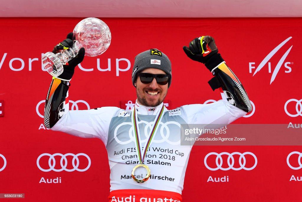 Audi FIS Alpine Ski World Cup Finals - Men's Giant Slalom