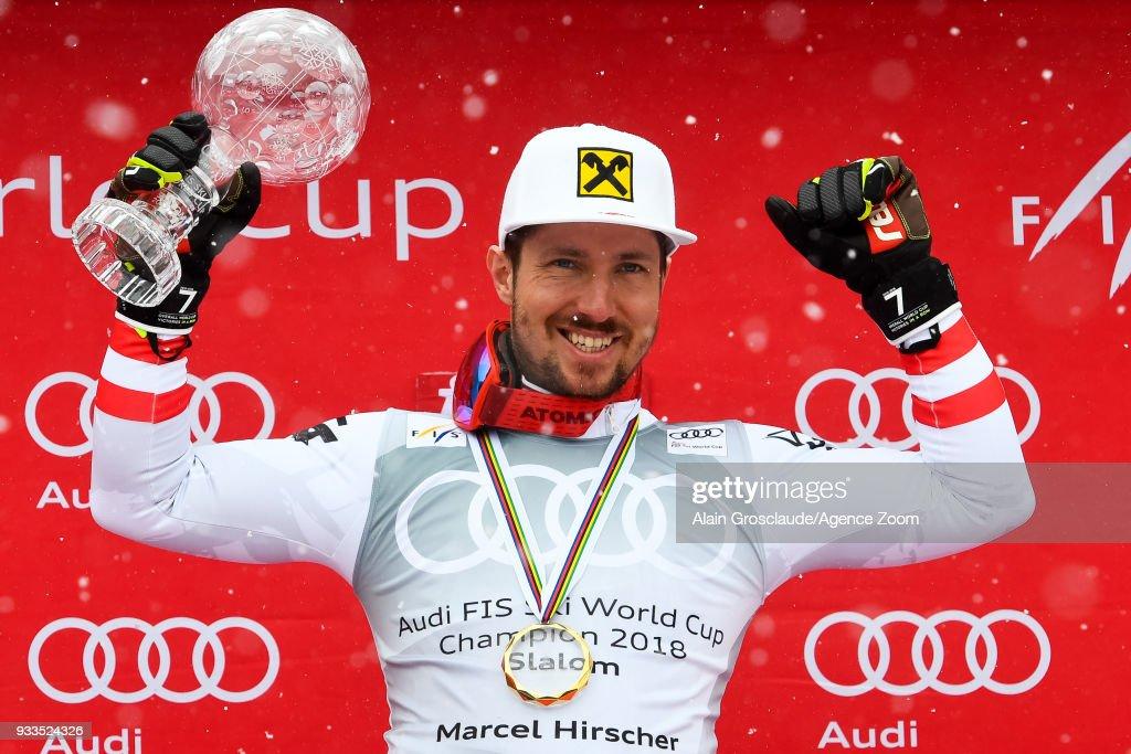 Audi FIS Alpine Ski World Cup Finals - Men's Slalom