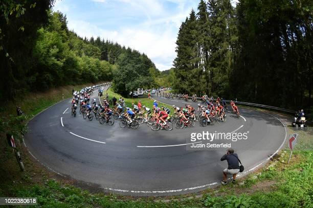 Marcel Kittel of Germany and Team Katusha - Alpecin / Jurgen Roelandts of Belgium and BMC Racing Team / Tom Dumoulin of The Netherlands and Team...