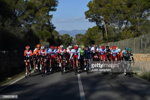 Marcel Kittel of Germany and Team Katusha Alpecin / Markel Irizar Aranburu of Spain and Team Trek-Segafredo / Brian Van Goethem of The Netherlands...