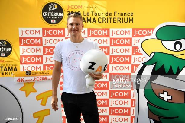 Marcel Kittel of Germany and Team Katusha Alpecin visiting Saitamarche Market during the 6th Tour de France Saitama Criterium 2018 Media Day / TDF /...