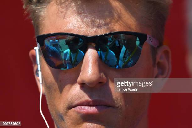 Marcel Kittel of Germany and Team Katusha / during the 105th Tour de France 2018 Stage 9 a 1565 stage from Arras Citadelle to Roubaix on July 15 2018...