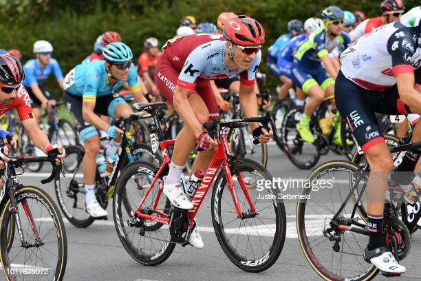 Marcel Kittel of Germany and Team KatushaAlpecin / during the 14th BinckBank Tour 2018 Stage 4 a 1663km from Blankenberge to Ardooie / BBT / on...