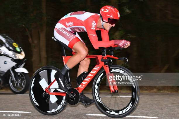 Marcel Kittel of Germany and Team Katusha-Alpecin Red Points Jersey / during the 14th BinckBank Tour 2018, Stage 2 a 12,7km Individual Time Trial...