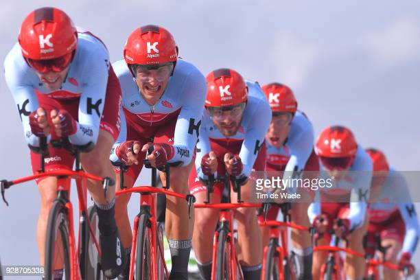 Marcel Kittel of Germany / riding for Team Katusha Alpecin of Switzerland / during the 53rd TirrenoAdriatico 2018 / Stage 1 Team Time Trial of 215km...