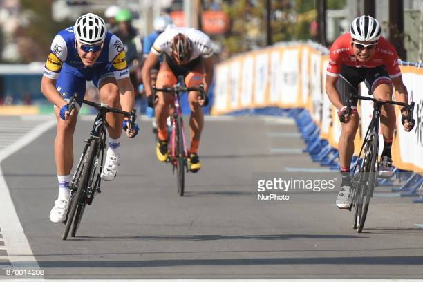 Marcel Kittel sprints to win the SPRINT Race during the 5th edition of TDF Saitama Criterium 2017 Sprint Race On Saturday 4 November 2017 in Saitama...