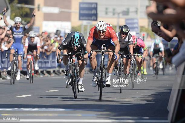 Marcel Kittel wins the final fourth stage and the Tour of Dubai 2016 the 137km Business Bay Stage going through the Old and New Town before...