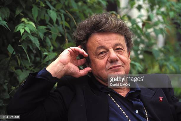 Marcel Marechal director of the Theâtre du Rond Point in the Champs Elysees in Paris France on September 12 1995