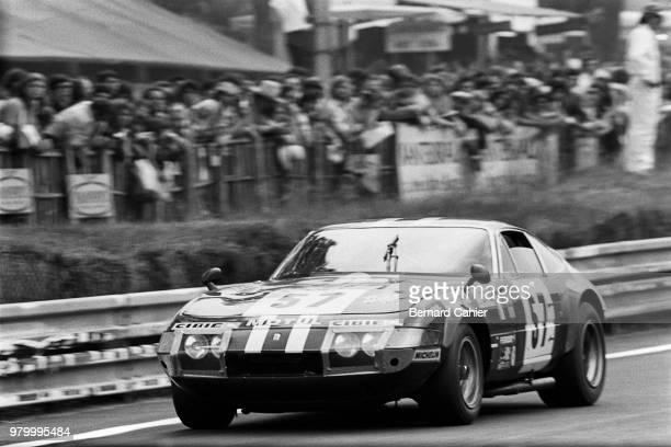 Marcel Mignot Ferrari 365 GTB/4 Daytona 24 Hours of Le Mans Le Mans 16 June 1974