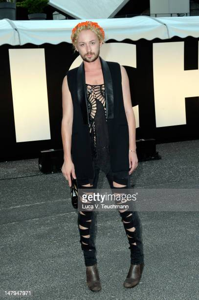 Marcel Ostertag arrives for the Michalsky Style Nite 2012 during MercedesBenz Fashion Week Berlin Spring/Summer 2013 at Tempodrom on July 6 2012 in...