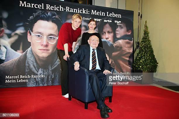 Marcel ReichRanicki Matthias Schweighöfer Katharina Schüttler Premiere zum ARDFernsehfilm Marcel ReichRanicki Mein Leben Cinenova Köln...