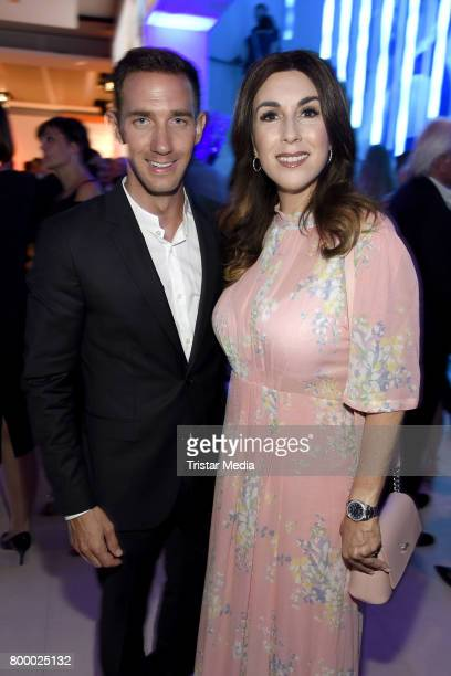 Marcel Remus and Judith Williams attend the Bertelsmann Summer Party on June 22 2017 in Berlin Germany