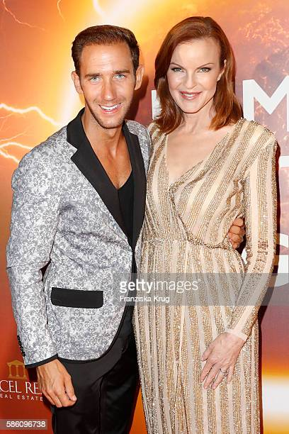 Marcel Remus and Marcia Cross attend the Remus Lifestyle Night 2016 on August 4 2016 in Palma de Mallorca Spain