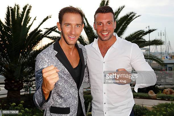 Marcel Remus and Marco von Reeken attend the Remus Lifestyle Night 2016 on August 4 2016 in Palma de Mallorca Spain