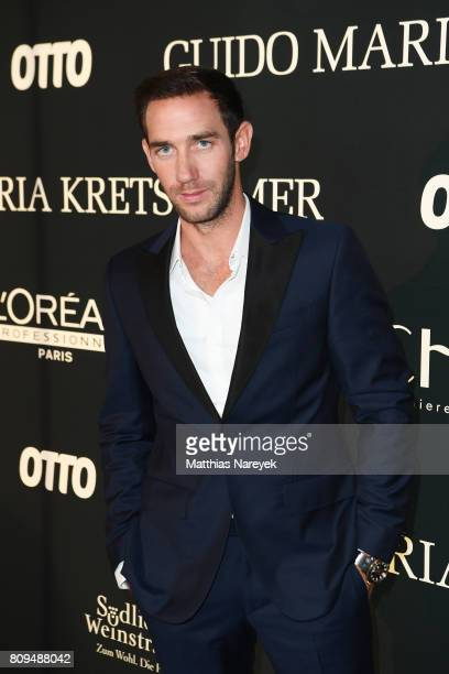 Marcel Remus attends the Guido Maria Kretschmer Fashion Show Autumn/Winter 2017 at Tempodrom on July 5 2017 in Berlin Germany