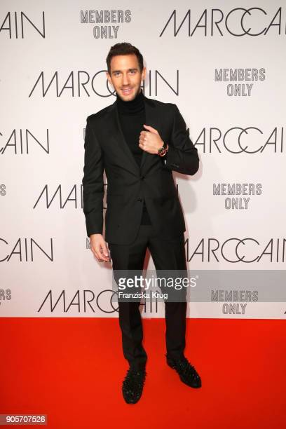 Marcel Remus during the Marc Cain Fashion Show Berlin Autumn/Winter 2018 at metro station Potsdamer Platz on January 16 2018 in Berlin Germany