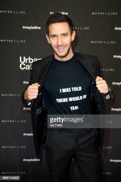 Marcel Remus during the Maybelline Show 'Urban Catwalk Faces of New York' at Vollgutlager on January 18 2018 in Berlin Germany