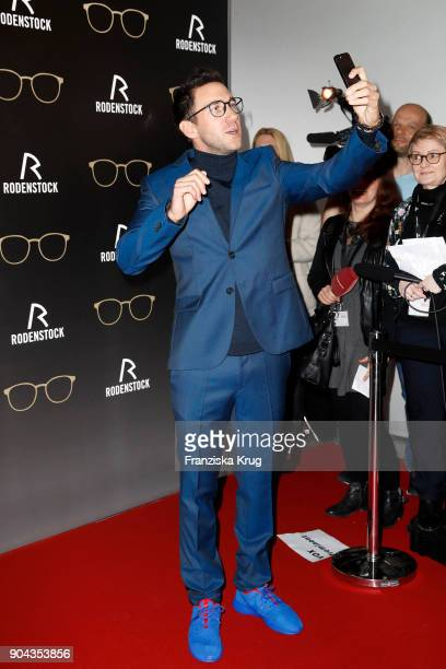 Marcel Remus during the Rodenstock Eyewear Show on January 12 2018 in Munich Germany