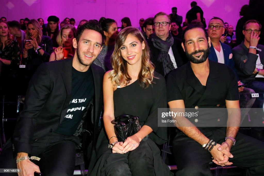 Celebrities At Maybelline Urban Catwalk Show Berlin
