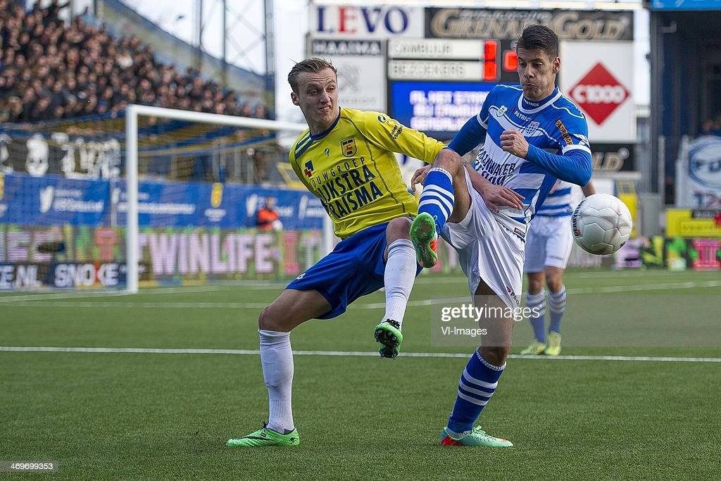 Marcel Ritzmaier Of Sc Cambuur Athanasios Karagounis Of Pec Zwolle News Photo Getty Images