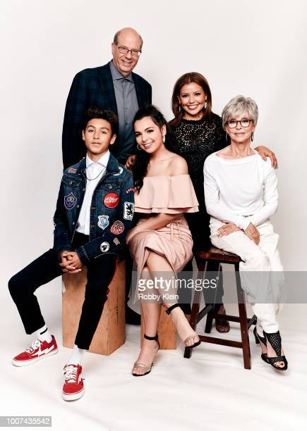 Marcel Ruiz Stephen Tobolowsky Isabella Gomez Justina Machado and Rita Moreno of Netflix's 'One Day at a Time' pose for a portrait during the 2018...