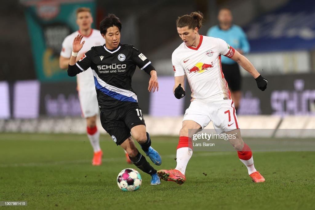 DSC Arminia Bielefeld v RB Leipzig - Bundesliga : News Photo
