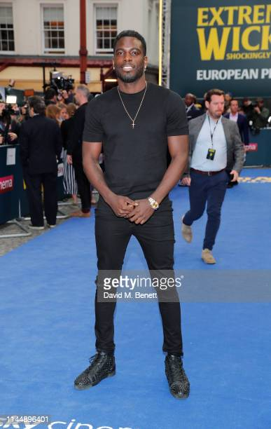 """Marcel Somerville attends the European Premiere of """"Extremely Wicked, Shockingly Evil And Vile"""" at The Curzon Mayfair on April 24, 2019 in London,..."""