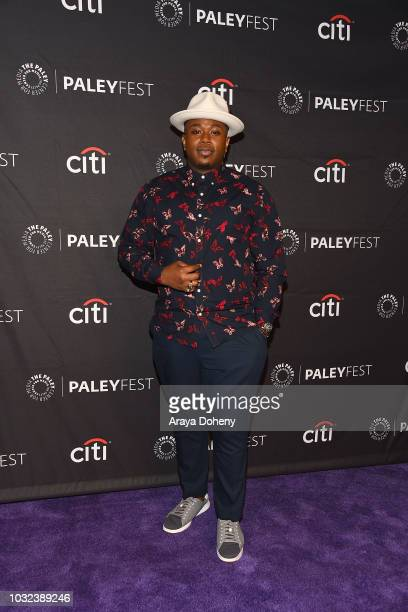"""Marcel Spears from """"The Neighborhood"""" attends The Paley Center for Media's 2018 PaleyFest Fall TV Previews - CBS at The Paley Center for Media on..."""