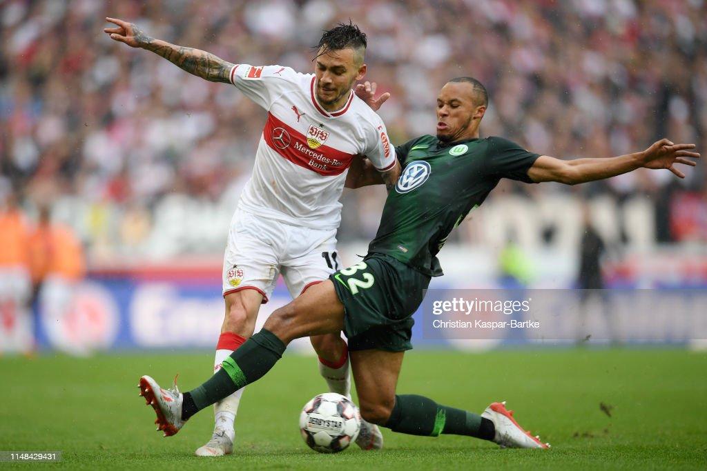 DEU: VfB Stuttgart v VfL Wolfsburg - Bundesliga