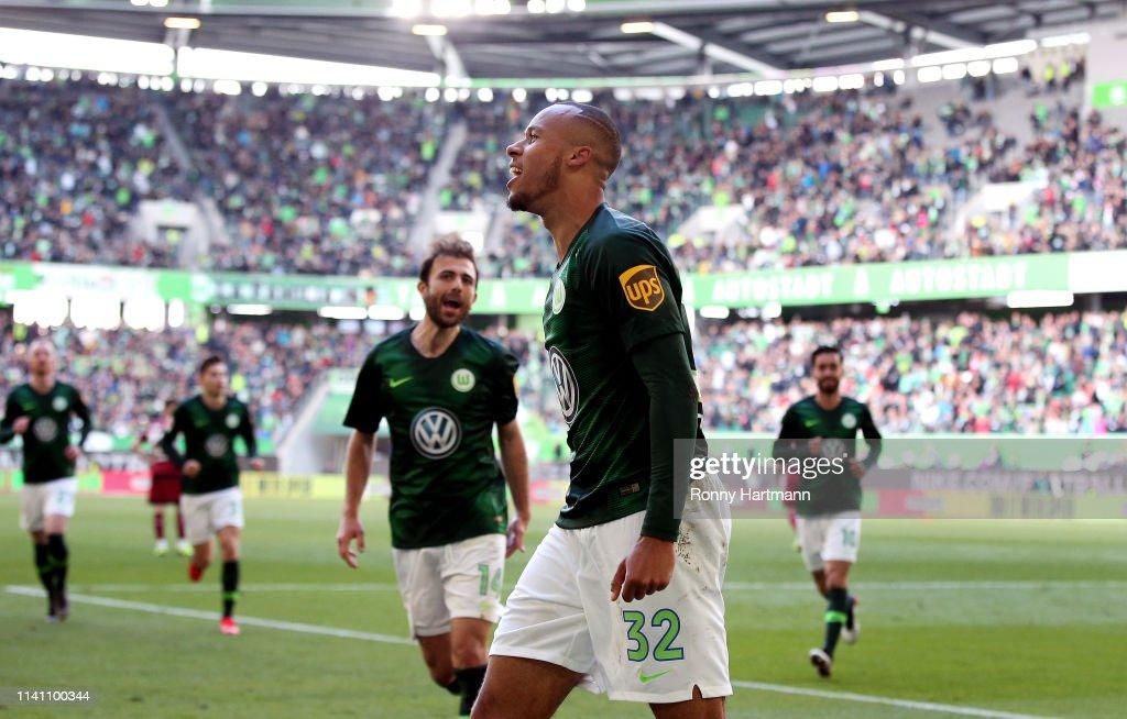 DEU: VfL Wolfsburg v 1. FC Nuernberg - Bundesliga