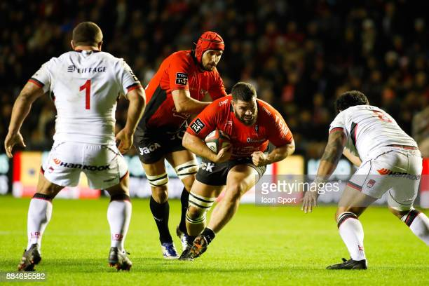 Marcel Van Der Merwe of Toulon during the Top 14 match between Toulon and Lyon OU on December 2 2017 in Toulon France